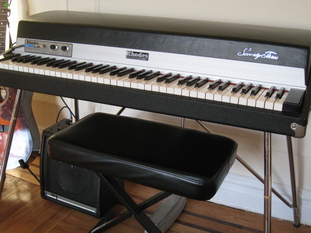 Fender Rhodes refurb - finished product